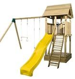 Woodvision Speeltoestel Houten Speeltoren Variant Excl. glijbaan excl. schommelaanbouw