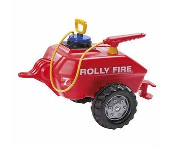 RollyToys Wateraanhanger met spuit Brandweer