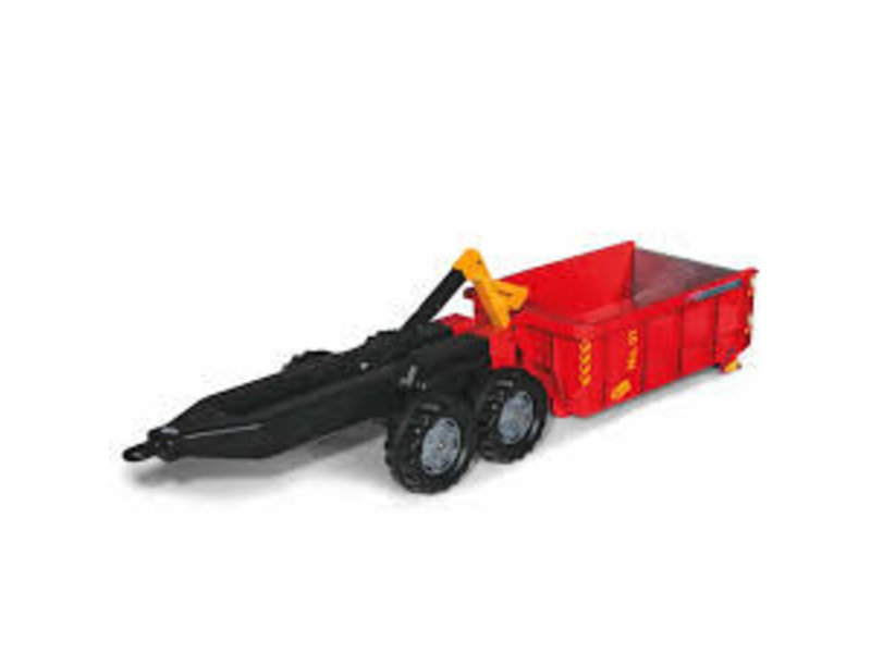 Rolly Toys Afzetcontainer rood