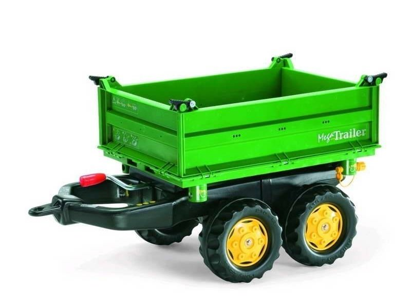 Rolly Toys Rolly Mega trailer Deutz groen