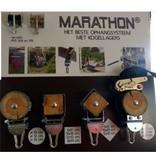 Marathon Schommelhaak Gekantelde Balk 9 x 9 cm