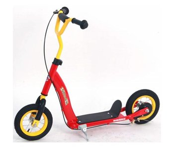 Volare Autoped 10 inch Rood Geel