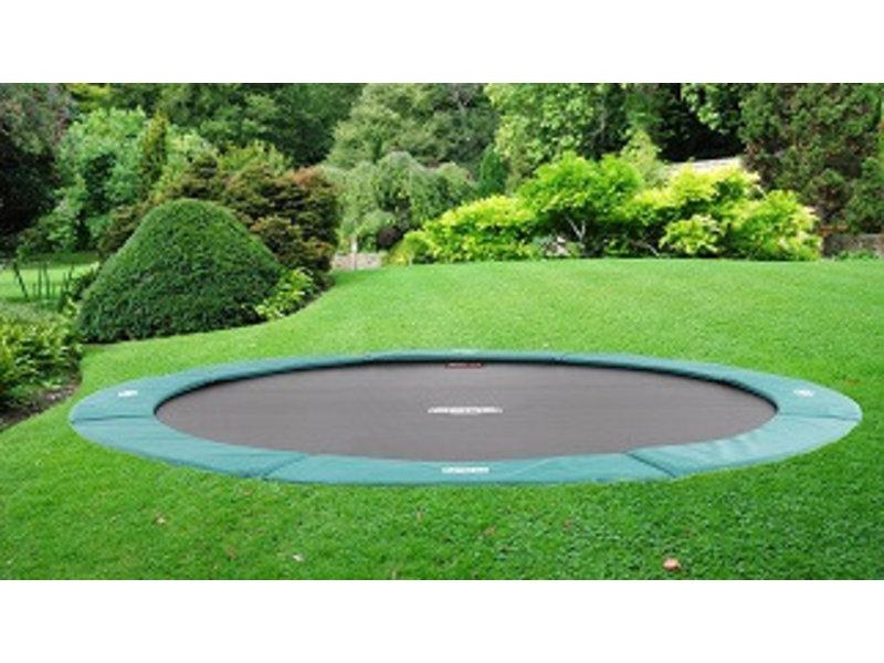 BERG FlatGround Champion trampoline 430 groen