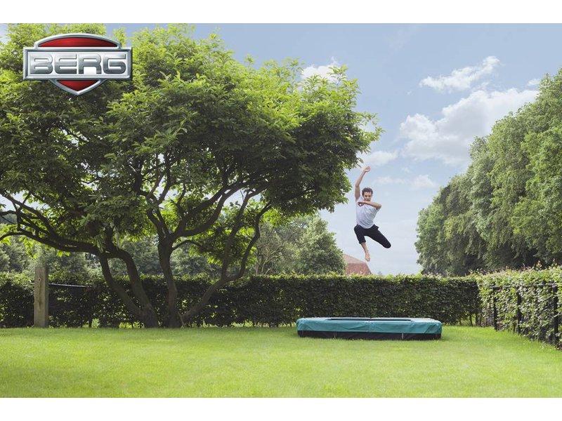 BERG Inground Trampoline Eazyfit Groen 220x330