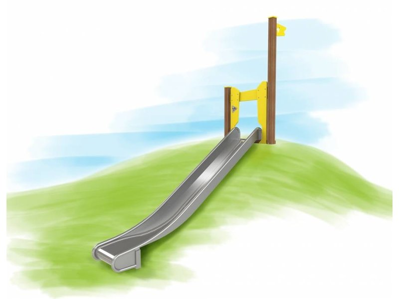Houtplezier Talud glijbaan 1,40mtr