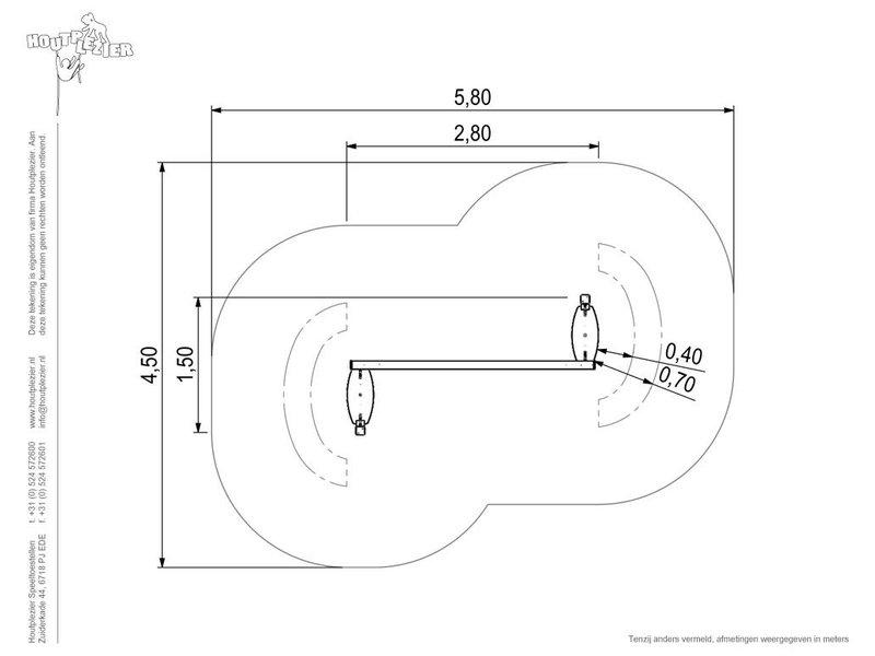 Houtplezier Element D - looplianen