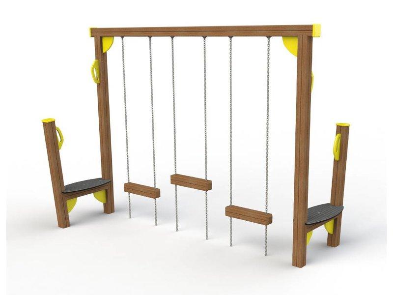 Houtplezier Element F - blokkenloop