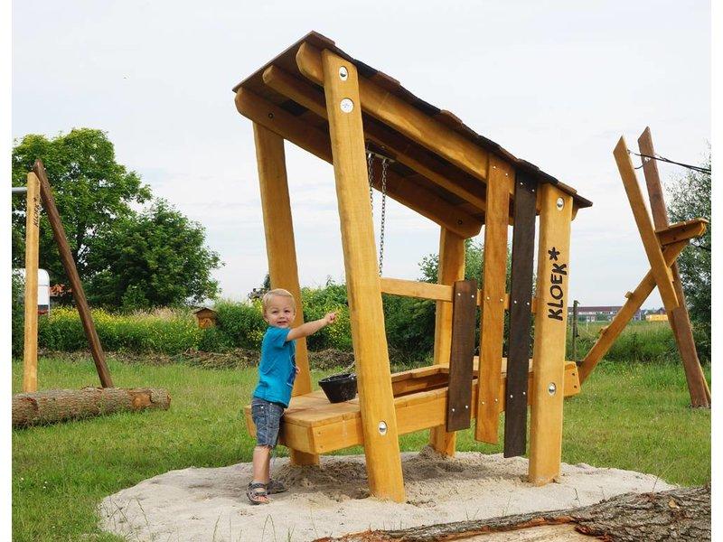 Houtplezier Eend - speelhuisje