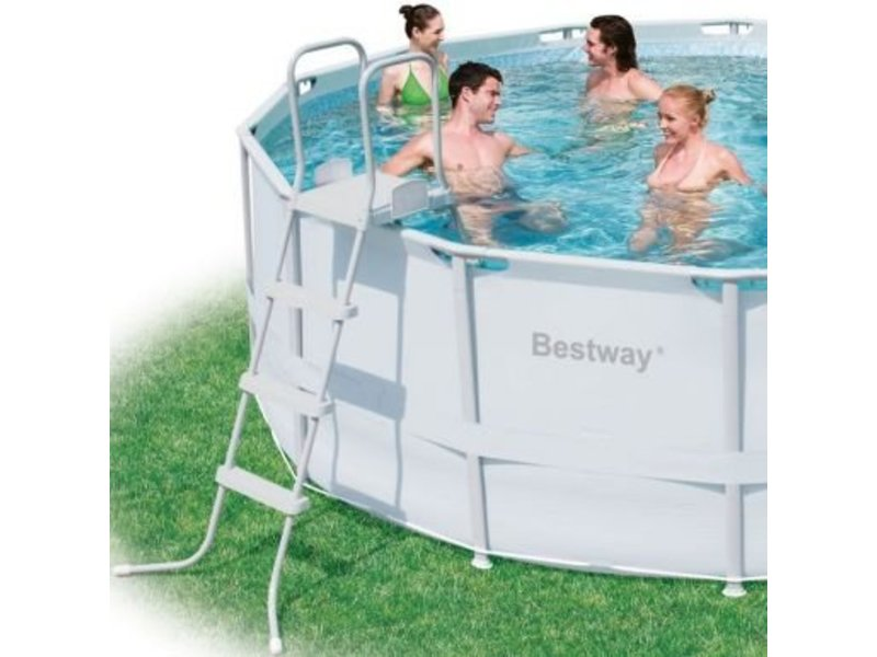Bestway Power Steel Frame Pools 427x122
