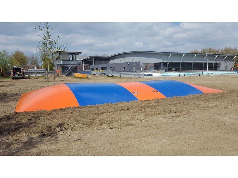 Airtrampoline 10 x 20 meter