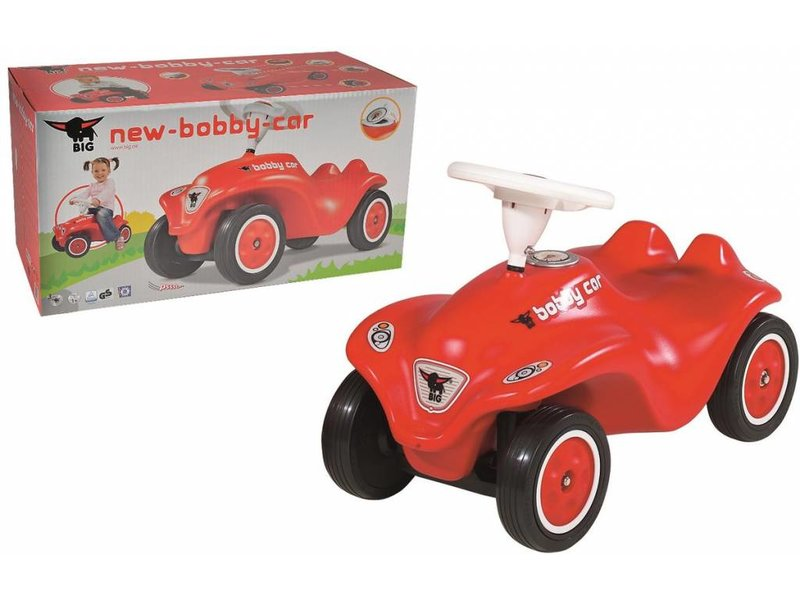 Big Bobby Car Next Generation loopauto rood