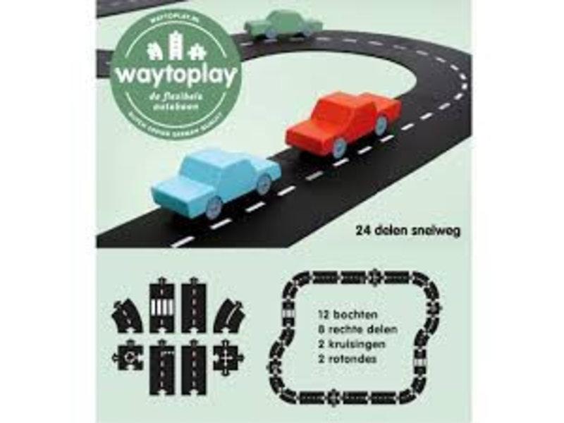 Waytoplay Wegdelen 24 Delig AANBIEDING