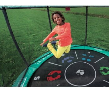 BERG Trampoline Favorit 430 Tattoo + Safety net comfort