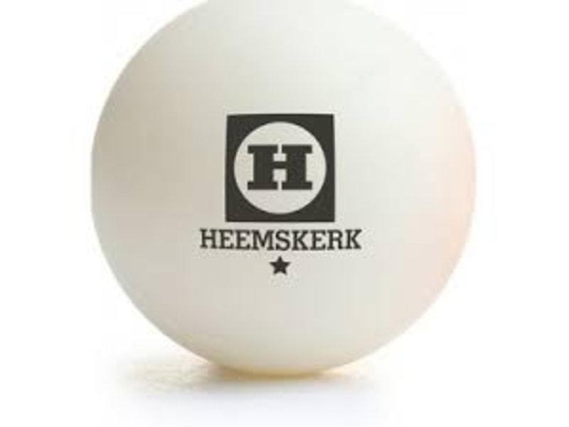 Heemskerk Tafeltennisballen 1 ster Wit (12)