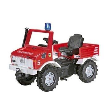 RollyToys Unimog trapauto Brandweer