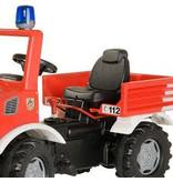 Rolly Toys Unimog trapauto Brandweer traptrekker