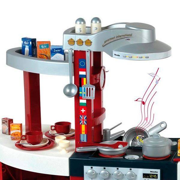 Speelkeuken Miele Gourmet Luxe.Miele Keuken Gourmet International