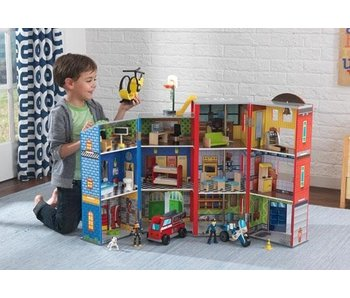 Kidkraft Houten speelgoedset everyday heroes