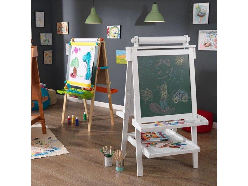 Kidkraft Houten Verstelbaar Schoolbord - Wit