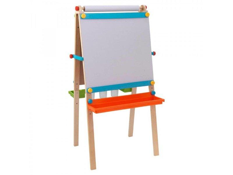Kidkraft Kunstenaars Schoolbord Met Papierrol