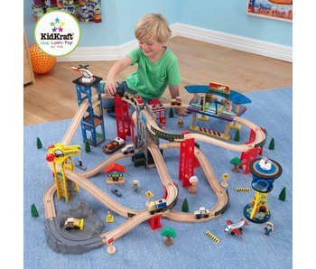 Kidkraft Super Highway Treinset