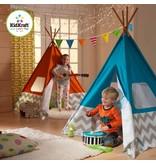 Kidkraft Tipi Speeltent - kleur Turkoois Blauw 00223