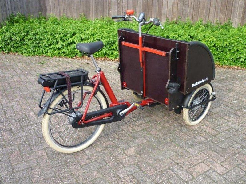 Bakfiets.nl Riksja Steps elektrische bakfiets