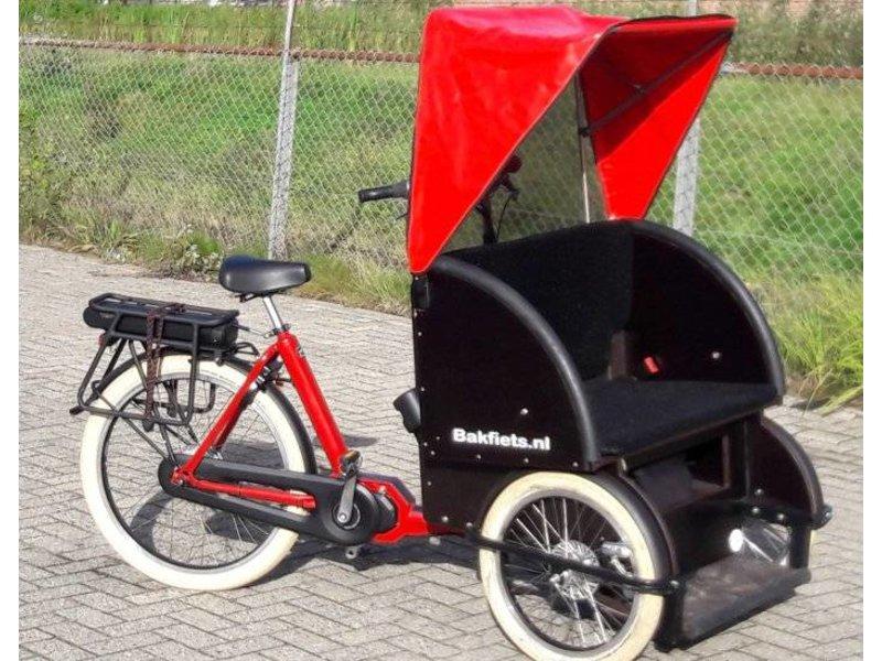 Bakfiets.nl Elektrische bakfiets Riksja
