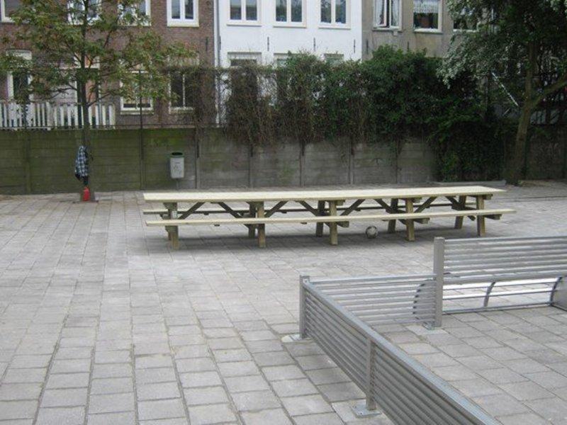 Picknicktafel 6 meter