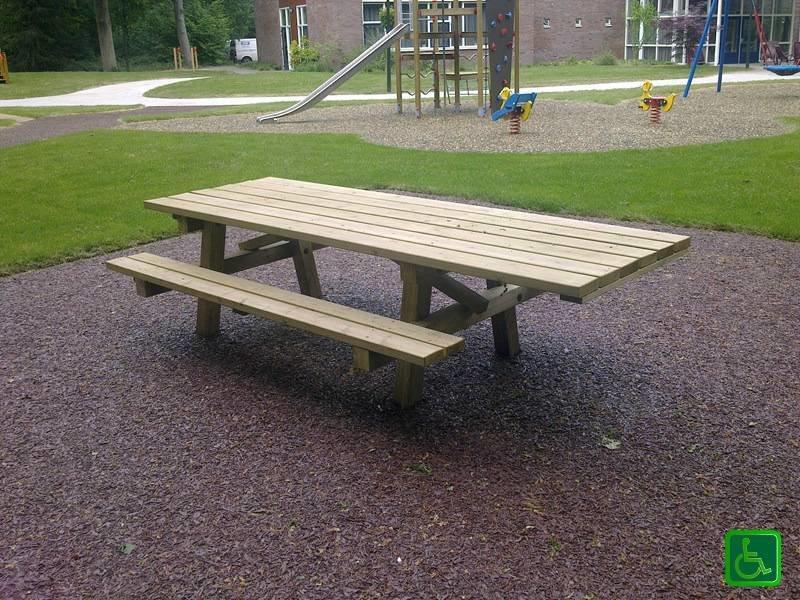 Picknickset voor rolstoel