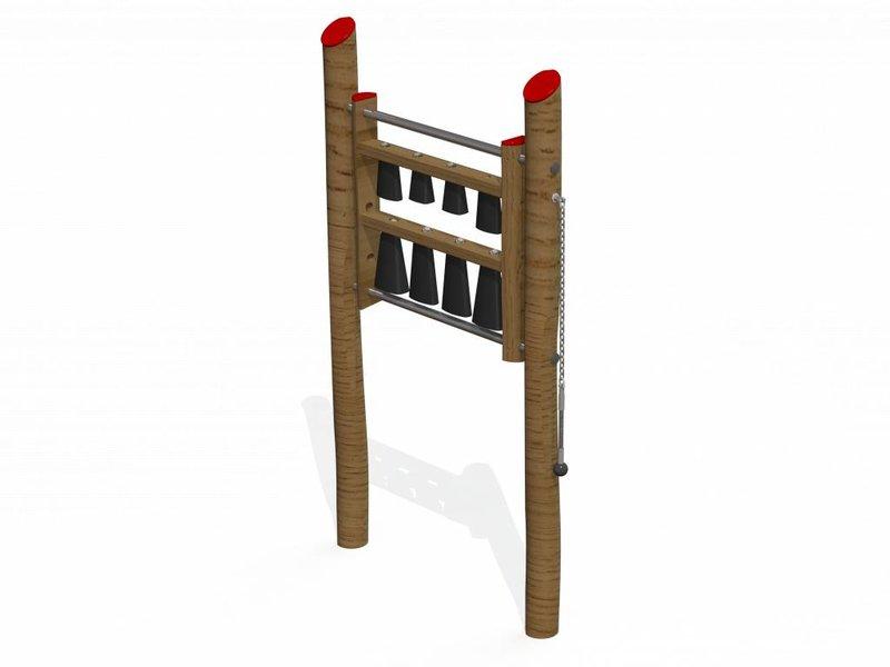IJreka  Speelpaneel Koebel Robinia hout