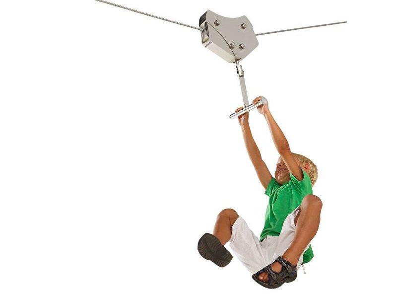 Kabelhouder  voor rondhout