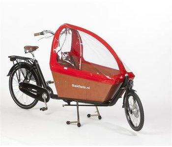 Bakfiets.nl Tent Gargobike long: Rood