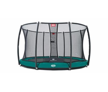 BERG InGround trampoline Elite 330 Groen + Safety Net T-series
