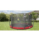 BERG InGround trampoline Elite 430 Rood + Safety Net T-series