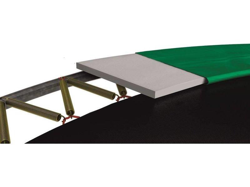 BERG InGround trampoline Elite 380 Groen + Safety Net T-series
