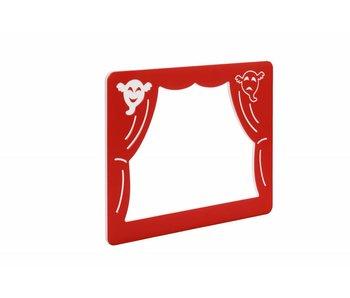 Speelpaneel 'theater' rood
