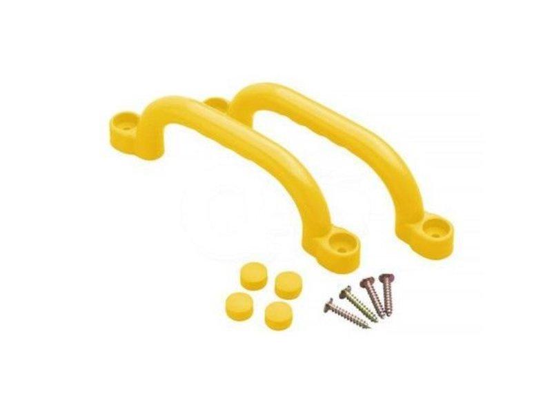 Handgrepenset in kunststof - 250 mm - geel