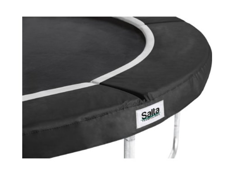 Salta Trampoline Premium Black Edition met veiligheidsnet 244 cm + gratis trapje