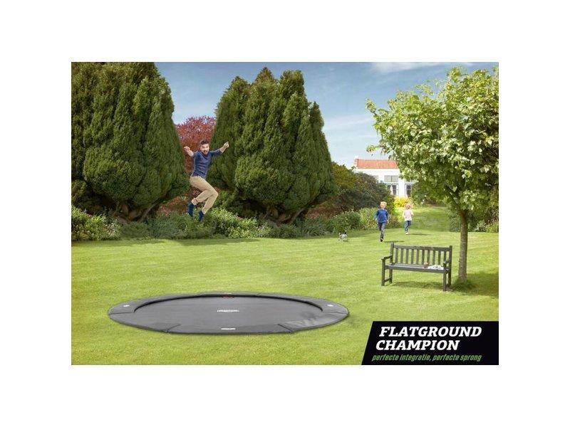 BERG FlatGround Champion trampoline 330 grijs