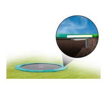 BERG FlatGround Champion trampoline 380 groen (gratis BERG Afdekhoes Extra*)