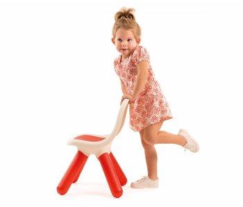 Smoby outdoor Kinderstoel Rood