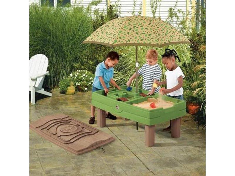 Zand Water Tafel : Step activity center zand en watertafel recreatiespeelgoed