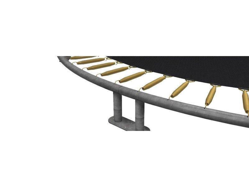 BERG Favorit InGround Trampoline 380 Grijs