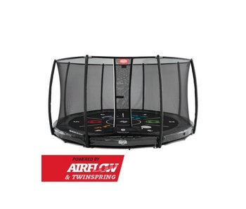 BERG InGround Elite Grey 430 + Safety Net Deluxe Tattoo