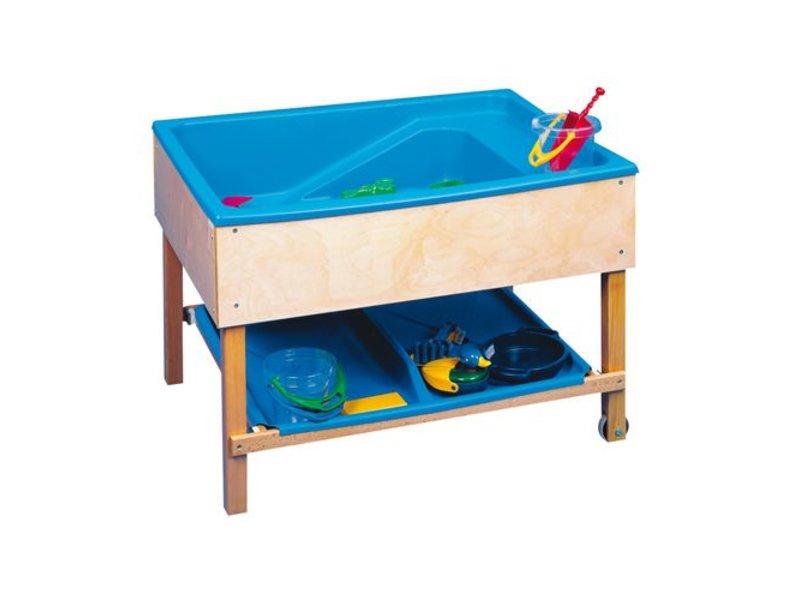 Zand Water Tafel : Zand en watertafel bak met kraan en afvoer recreatiespeelgoed