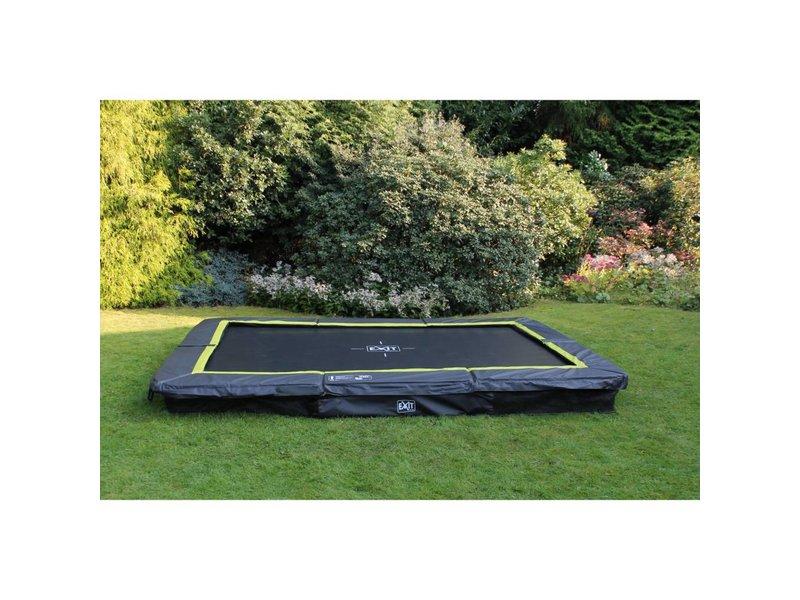 Exit  Silhouette inground trampoline 214x305cm