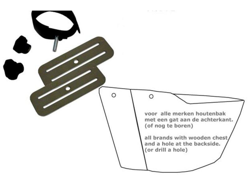 Bakfiets.nl Baby / peuterschaal bevestigingsset