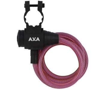 AXA kabelslot zipp roze