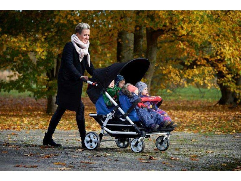 Winther Regenhoes | Winther wandelwagen | 4-persoons | Stroller-4